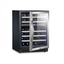 Kahden lämpötilan viinikaappi MaCave S46G, 82x60cm