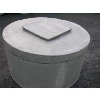 Kaivonkannen betoniluukku, 40x40cm