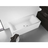 Kylpyamme Kaldewei Puro Duo, upotettava, eri kokoja, valkoinen