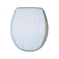 WC-kansi Kan 2001 Classic, valkoinen reliefi