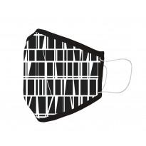 Kangasmaski Finlayson Coronna musta-valkoinen 13X24cm 1kpl/ tuote