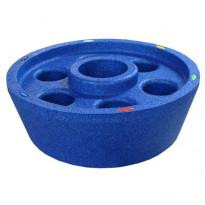 Kylpytynnyrin kelluva juomateline Poolmate, sininen