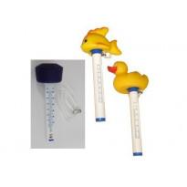 Vesilämpömittari, kelluva, eri mallivaihtoehtoja