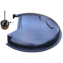 Kylpytynnyrin allasosan muovikansi 170cm tynnyreille Sub/Side kaminalla