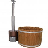 Kylpytynnyri Kirami Original Woody M Tube Wood, 4-6hlöä