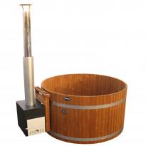 Kylpytynnyri Kirami Original Woody L Cube, 6-8hlöä