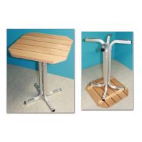 Laituri-/pihapöydän jalat