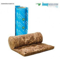 Lasivillarulla Knauf EcoBlanket 035 100mm. rullakoko 570x6500mm. 7.41m2/rll