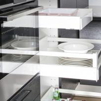 Sisälaatikko korkea Ideal Keittiöt 400 mm runkoon hidasteilla