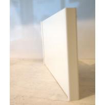 Sokkelin päätypala Ideal Keittiöt 150 mm vedenkestävä matta valkoinen
