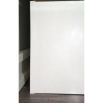 Sokkelin päätypala Ideal Keittiöt, 150mm, melamiini, valkoinen
