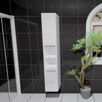 Korkea kaappi Easy Bath OVI2, 1750x300mm