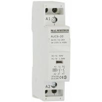 Kontaktori Malmbergs 20A 230V 2-napainen 1 moduuli
