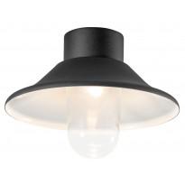 LED-kattovalaisin Konstsmide Vega, 552-750, 295x295x220mm, himmennettävä, musta