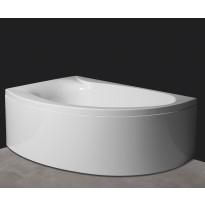 Kulma-amme Svedbergs Z170V vasen, 170x110cm, akryyli, valkoinen, Tammiston poistotuote