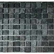 Liuskekivi Hiili, musta, 30x30cm