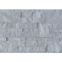 Verhoilukivi Sami Valkoinen, 35x18cm, valkoinen