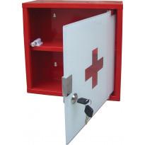 Lääkekaappi Pisla, punainen