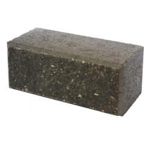Citymuurikivi Lakka lohko/sileä, musta 360x180x150mm