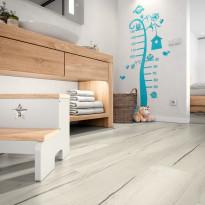 Laminaatti Egger Flooring Home Aqua+, Creston Tammi Valkoinen, 1.995 m²/pkt
