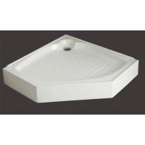 Allas Forte Giusto tai Forte Nuevo suihkunurkkaukselle, 90x90x16, valkoinen