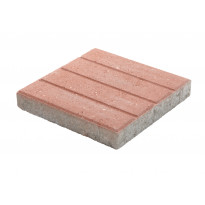 Betonilaatta Lakka, BL-305 urallinen, punainen 300x300x50mm