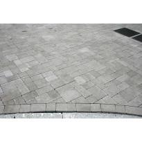 Roomankivet kivisarja 60mm, harmaa, 5 eri kokoa, valmis ladontakuvio