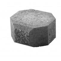 Lohkopäätykivi Lakka, musta 200x200x100mm