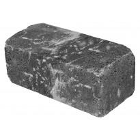 Antiikkimuurikivi sileä, musta 360x180x150mm