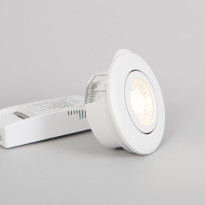 LED alasvalo FTLight, valkoinen, 6W 450lm 3000K IP44/IP23