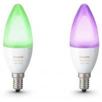 LED-lamppusetti Philips Hue, white and color ambiance, E14 2 kpl/pak