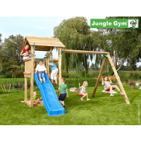 Leikkikeskus Jungle Gym Casa, sis. keinumoduuli ja liukumäki