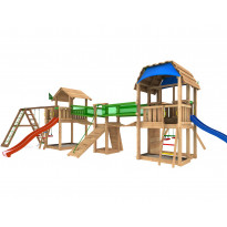 Leikkikeskus Jungle Gym Leikkiuniversumi 8, sis. kaksi liukumäkeä