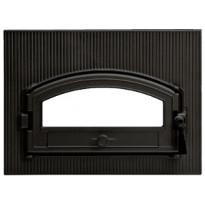 Leivinuunin luukku 410x230/180 mm valurauta musta