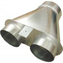 Yhdysputki Modul-järjestelmään Lapetek 2 x 120 mm