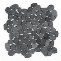 Luonnonkivi Piki, musta, 30x30cm