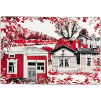 Matto Vallila Kokkola, 133x190cm, punainen