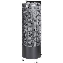 Sähkökiuas Mondex Kalla E-malli, 6.6kW, 6-9m³, erillinen ohjaus, musta