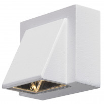 Seinävalaisin Carina, 1-os, valkoinen, LED, IP44
