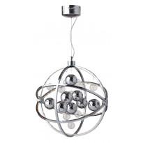 Riippuvalaisin LED Globe, Ø500x550mm, kromi