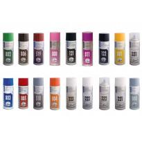 Spraymaali 100-sarja, 400ml, perusvärit, eri värivaihtoehtoja (6kpl)