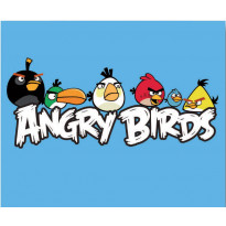 Keskilattiamatto Angry Birds, Hang around, 100x120cm