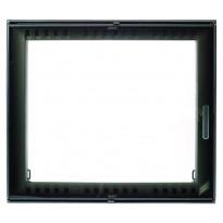 Takkaluukku 2000+, 550x480mm, 1-ovinen, harmaa