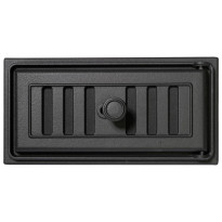 Tuhkapesänluukku 0512, 270x130mm, musta