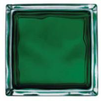 Lasitiili Vitrablok Iris, 1908/W GR, 19x19x8cm, vihreä pilvi