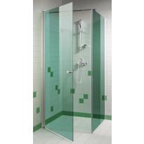 Suihkuovi 90x200cm, vihreä lasi