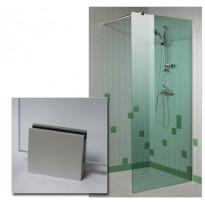 Suihkuseinä 90x200cm, vihreä lasi