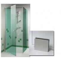 Suihkunurkka 90x90x200cm, vihreä lasi