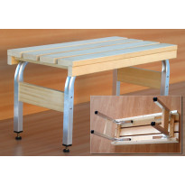 Alumiiniset Kikka-penkin/pöydänjalat, korkeus 80cm