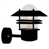 Seinävalaisin Blokhus, 220x250x230mm, yläsuunta, musta